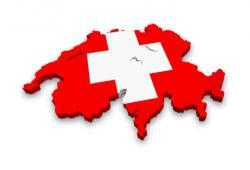 suisse carte drapeau
